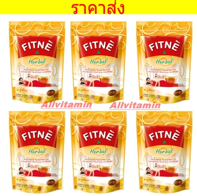 FITNE' HERBAL INFUSION TEA CHRYSANTHEMUM FLAVORED - 6 * 30 P