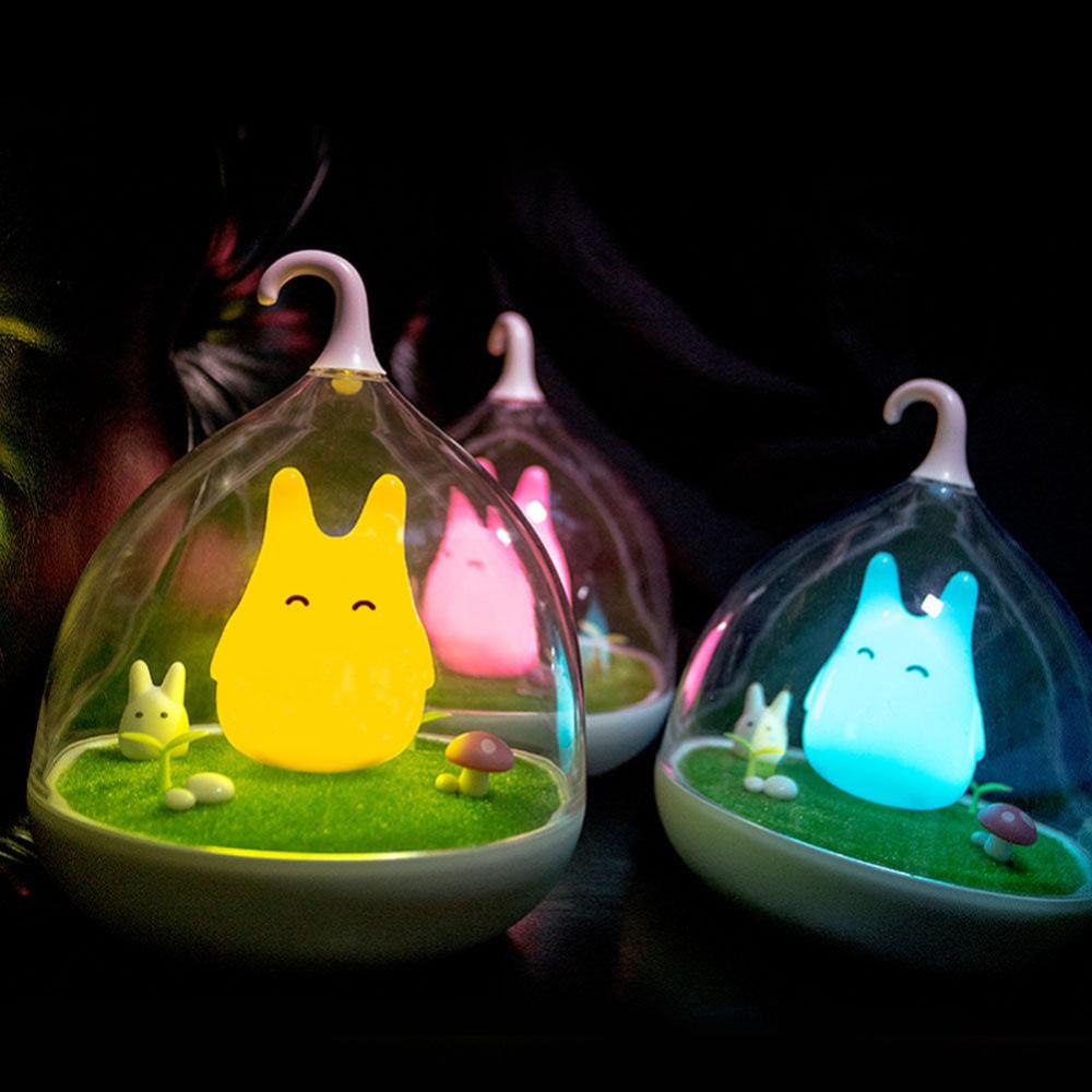 โคมไฟ Totoro ระบบสัมผัส