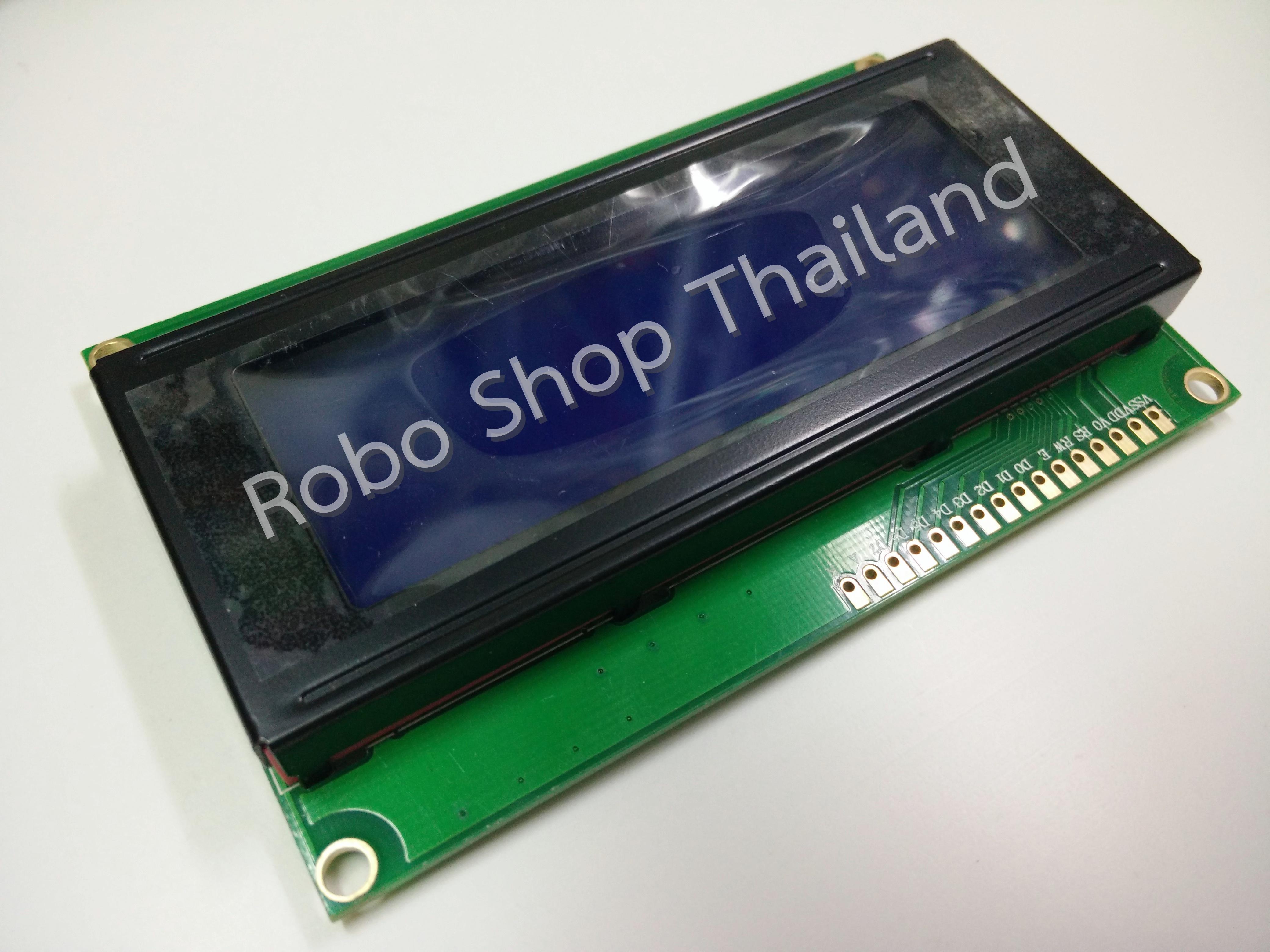 LCD 20x4 Blue