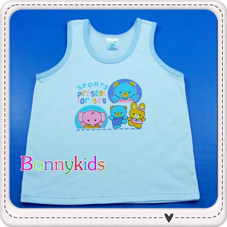 เสื้อกล้ามเด็ก size 0-3m (แพ็ค 12 ตัว)