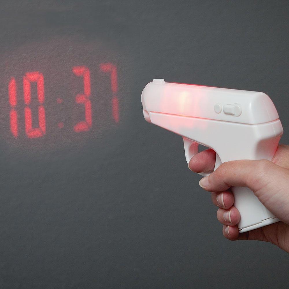 ปืนเลเซอร์โปรเจคเตอร์ยิงเวลา