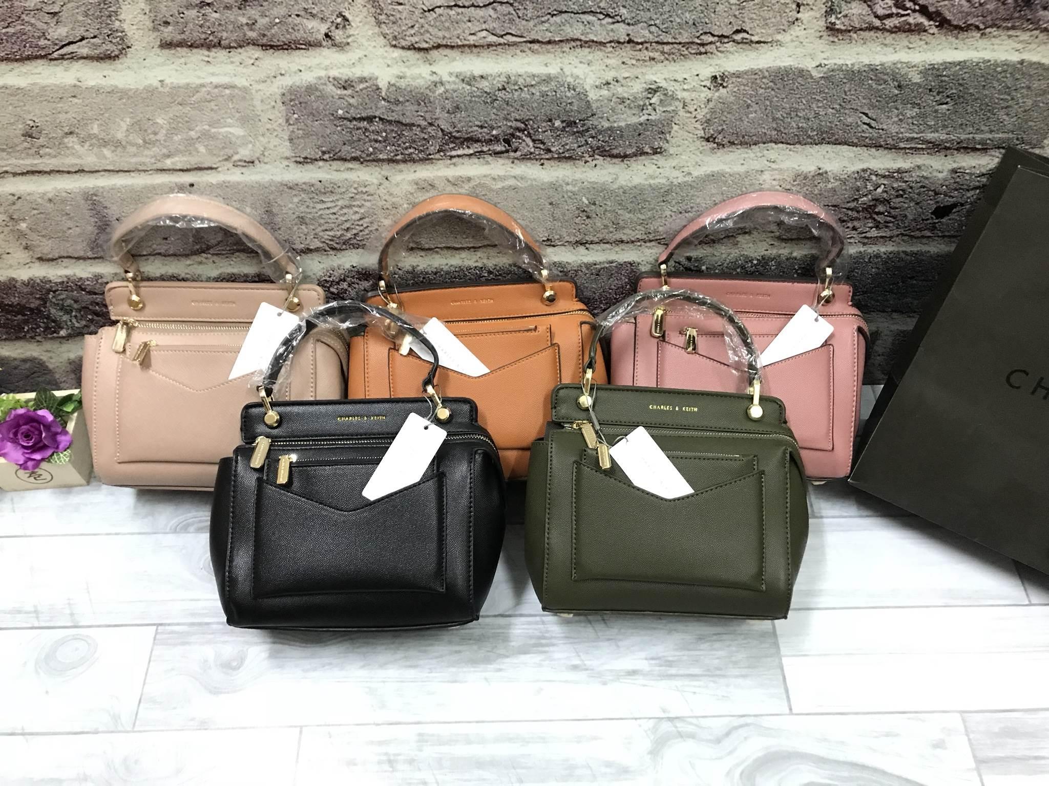 CHARLES & KEITH Small Top Handle Bag