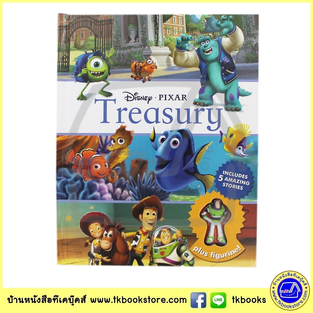 Disney Pixar Treasury : 5 stories + Buzz Lightyear Minifigurine นิทานปกแข็ง ดิสนีย์ พิกซ่าร์ 5 เรื่องพร้อม มินิฟิกร์
