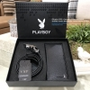 PLAYBOY Leather Belt & Wallet Limited Edition with Box