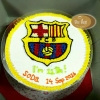 เค้กสโมสรฟุตบอลบาร์เซโลน่า (Barcelona FC Cake)