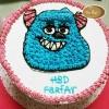 เค้กซัลลี่ (Sullivan Hairy Monster Cake)