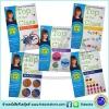 DK : Carol Vorderman : Top of the Class: Key Stage 1 : 5 Workbooks Collection Set : Age 5-6 เซตแบบฝึกหัด KS1