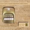 สวิตซ์เหล็ก พัดลมเพดาน ซากุระ แบบกด ปรับระดับแรงลม 4 ระดับ Luxury Gold