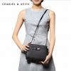 กระเป๋า CHARLES & KEITH BOW CROSSBODY BAG สีดำ