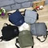 Anello Denim& nylon mini shoulder bag