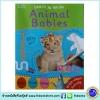 Learn To Write - Wipe Clean Workbook : Animal Babies : Miles Kelly หนังสือเขียนลบได้ ฝึกกล้ามเนื้อมัดเล็ก ลูกสัตว์