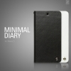 Zenus : Minimal Diary Original Saffiano Leather Cover Case for LG Nexus 5