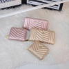 KEEP Richly Short & Long Zipper Wallet Pink & Gold Collection 2018