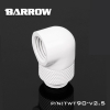 Barrow ข้องอ 90 Rotary male - Female สีขาว