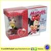 Mini Board books Set : Disney Minnie My Little Storybook Library With Figurine มินิบอร์ดบุ๊คส์ 6 เล่ม พร้อมมินิฟิกร์มินี่เมาส์