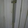 อุปกรณ์ล็อคประตูบังตา ชิ้นงานทำด้วยเหล็ก