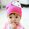 HT445••หมวกเด็ก•• / หมวกบีนนี่-ผีเสื้อ (สีชมพู)