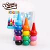 สีเทียนสำหรับเด็กเล็ก Food Grade ปลอดสารพิษ Crayonlab เซ็ต 12 สี (สวมนิ้ว)