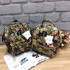Anello x Legato Largo Botanical & Cat nylon Cap fasteners Backpack mini