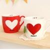 แก้วหัวใจคู่รัก Sweetheart ขายยกคู่ < พร้อมส่ง >