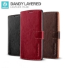 Verus : LAYERED DANDY Wallet Case Cover Card Slots For LG G4