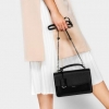 Charles & Keith PUSH-LOCK SATCHEL BAG 2017