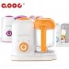เครื่องนึ่งพร้อมปั่นอาหารเสริมเด็ก QOOC รุ่น Mini [ส่งด่วนฟรี]