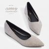 รองเท้าส้นแบนไซส์ใหญ่ Eleganca Glittery รุ่น KR0525