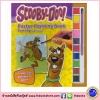 Scooby Doo - Poster Painting Book สกูปีดู หนังสือโปสเตอร์ระบายสี พร้อมสีและพู่กัน