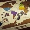 แผนที่โลกขูดได้ Scratch Map <พร้อมส่ง>