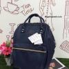 กระเป๋าเป้ Anello polyurethane Mini Navy Blue