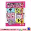 Sanrio Characters Secret Journal สมุดบันทึกน่ารักจากซาริโอ ลายการ์ตูน คิตตี้ เคโระ คุโรมิ เมโลดี้