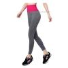 กางเกงออกกำลังกาย ผู้หญิง เล่นฟิตนิส โยคะ ขายาว - สีชมพู