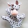 ตุ๊กตามือ หุ่นมือรูปลูกวัว