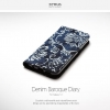 Zenus Denim Baroque Diary for Galaxy S7