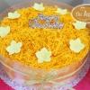 เค้กส้มฝอยทอง