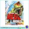 Discover The MEGA WORLD : 3000 facts about everything ENORMOUS หนังสือรวมความรู้เกี่ยวกับสิ่งมหึมา