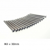 Countersunk screw M3 x 30 (Pack 20 ตัว) Stainless