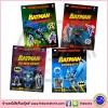 DK Ultimate Amazing Sticker Book : DC Comics : Batrman : 65 Reusable เซตหนังสือสติกเกอร์ แบทแมน 4 เล่ม
