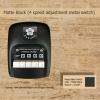 สวิตซ์เหล็ก พัดลมเพดาน ซากุระ แบบกด ปรับระดับแรงลม 4 ระดับ Matte Black