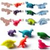 ชุดแม่พิมพ์ดินน้ำมัน-แป้งโดว์ ไดโนเสาร์ 3 มิติ เซต 6 แบบ