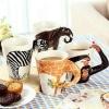 แก้วน้ำ 3D รูปสัตว์ Wild Animal Mugs