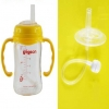 หลอดหัดดื่ม เปลี่ยนขวดนมคอกว้าง ให้เป็นขวดหัดดื่ม NanaBaby