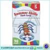 Flash Kids - Summer Skills Flash Cards : Grade 5 แฟลชการ์ด ความรู้สำหรับเด็กเกรด 5