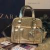 กระเป๋า ZARA MINI METALLIC BOWLING BAG สีทอง