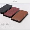 Zenus :Lettering Diary Wallet w/Card Slots Cover Case For LG G5
