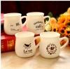 ชุดแก้วเซรามิค ฺBreakfast cup Milk < พร้อมส่ง >