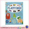 Playtime : My Sticker Activity Book , Sticker Puzzle Finger-puppet Colouring หนังสือกิจกรรม สติกเกอร์
