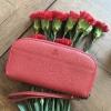 KEEP Gissy zipper Genuie Leather Wallet 2017 สีแดง