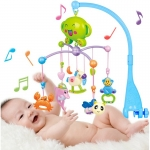 โมบายติดเปลเสริมพัฒนาการ 20 เพลง ใส่ถ่านหมุนอัตโนมัติ